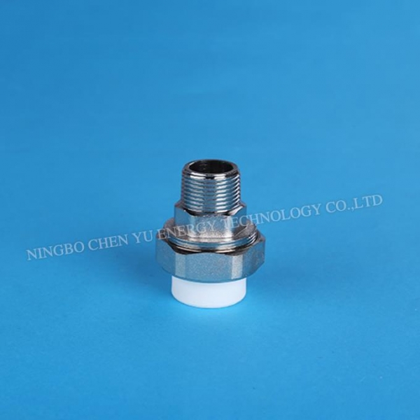 Ppr pipe fitting male threaded union of item