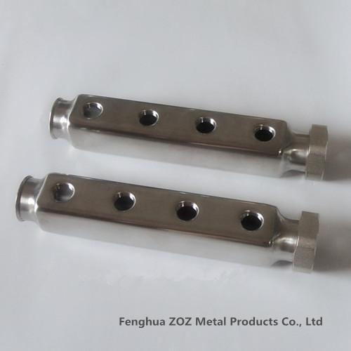 Stainless steel manifolds pipe zz of item