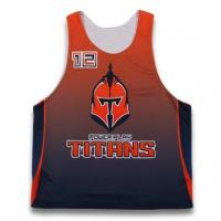 Wholesale Custom design team reversible jerseys lacrosse tops from china suppliers