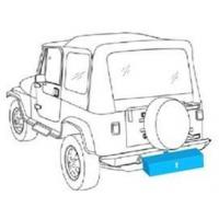 370-0002 Bumper Storage Box With Hitch Plate