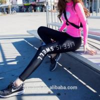 Wholesale Fashion Hot Sale Women Sexy Tight Printed Leggings Jogger Pants Sportswear Workout Leggings from china suppliers
