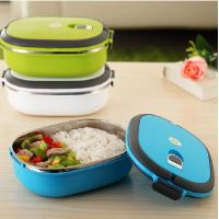 Wholesale Outer Plastic Inner Stainless Steel Lunch Box from china suppliers