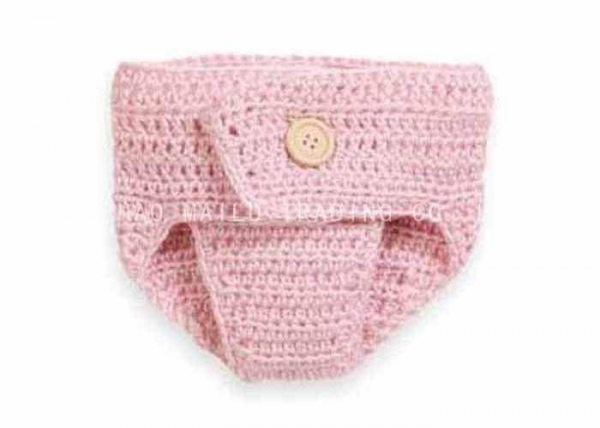 Knitting Items In Dubai : Warm pink crochet baby items washable knitted diaper cover