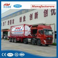 Wholesale 20ft Lox Lin Lar LNG Lco2 Tank Container Asme T75 ISO Tank Container For Liquid Gas from china suppliers