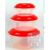 Wholesale 3pcs plastic container from china suppliers