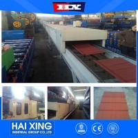 China Color Steel Sheet Vermiculite Stone Coated Machine on sale