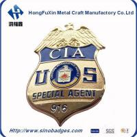 Custom Bronze Style Collection Commemorative CIA Special Agent 916 Badge
