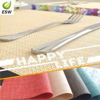 Wholesale 2014 Hot Sell Design Vinyl Woven Placemat from china suppliers
