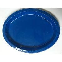 Wholesale plastic plate deep blue from china suppliers