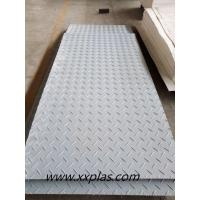 Wholesale gray color HDPE ground protection mat from china suppliers