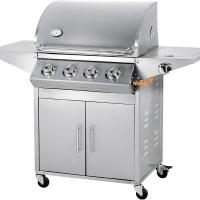 Wholesale 4 burner 67000 BTU stainless steel gas barbecue grill from china suppliers