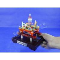 Wholesale 1:1000 Semi-Sub Oil Drilling Platform Model|Work Island Model from china suppliers