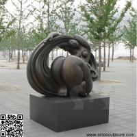 Wholesale bronze contemporary art sculpture , casting bronze contemporary statue in Beijing China from china suppliers