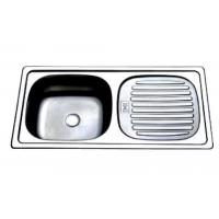 Wholesale One Piece Single-bowl-single-drain-board Number: DD8643 from china suppliers