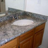 Wholesale Stone Vanity Tops Azul Aran Granite Vanity from china suppliers