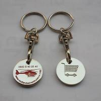 Wholesale trolley coin keychain-013 from china suppliers