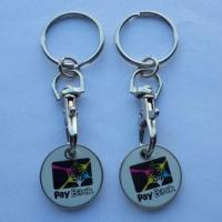 Wholesale trolley coin keychain-011 from china suppliers