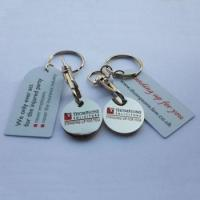 Wholesale trolley coin keychain-014 from china suppliers