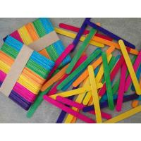 Wholesale Craft Stick Colorful Ice Cream Stick from china suppliers