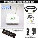 Wholesale C6901 Chinese HD live tv channels iptv box,Hongkong,Macao,Taiwan channels from china suppliers