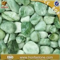 Wholesale pebble green jade pebbles from china suppliers
