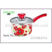 Wholesale Enamel Sauce pan Item No.:DQ-E09 from china suppliers
