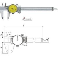 Wholesale Dial Calipers(Mono Block Type A) , Series:DC01 from china suppliers