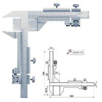Gear Tooth Vernier Calipers , Series:VC09