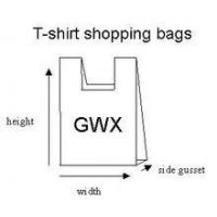 Wholesale HDPE/LDPE Plastic t-shirt shopping bag from china suppliers