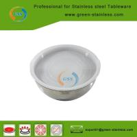 Wholesale Nature steel bowl with lid from china suppliers