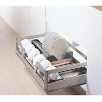 Wholesale Drawer basket Four sides drawer basket(bowl and dish rack) from china suppliers