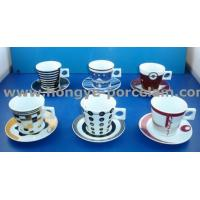 Wholesale Coffee Cup & Saucer>>Cappuccino Coffee Cup & Saucer from china suppliers