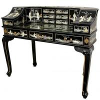 Wholesale Fine Lacquer Furniture Lacquer Lady's Desk w/ Mother of Pearl from china suppliers