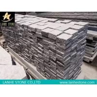 Wholesale Landscaping Stones Cheap G654 Dark Gray Paving Stone G654 Granite Cube Stone Pavers from china suppliers