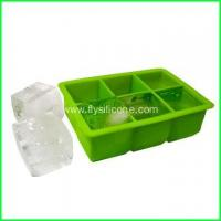 Wholesale 6-Cavity Custom Superb Silicone Ice Cube Tray FYJ-045 from china suppliers