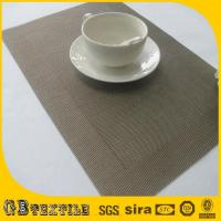 Wholesale place mats woven placemat from china suppliers