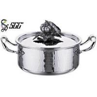 Wholesale 18*9CM / 20*10CM Round TriPly Cookware For Star Hotels / Restaurants / Canteen from china suppliers