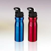Wholesale 750ml single wall stainless steel water bottle with straw drinking mouth C011054 from china suppliers
