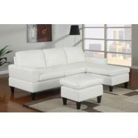 Wholesale Sausalito Cream Leather Small Sectional Sofa by Urban Cali from china suppliers