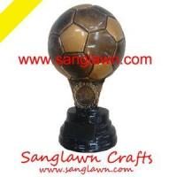 Wholesale S3001 Football resin gifts Metal Crafts from china suppliers