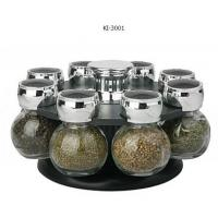 Wholesale Glass Condiment Items 8pc Glass Spice Jar Set from china suppliers