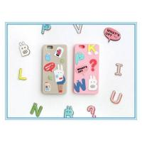 Chic Korean Style New Products Silicone Mobile Accessories for Iphone 6/6plus