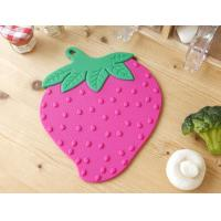 Wholesale Strawberry Silicone Pan Mat Table Mat/Silicone Baking Mat from china suppliers