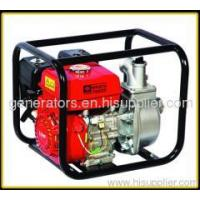 China 2 inch 3600rpm 6.5HP gasoline water pump on sale