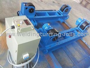 China Shot Blasting 60T Pipe Turning Rolls Welding in Grey with 100v - 600v Voltage