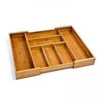 Wholesale Expandable Bamboo Drawer Organizer Tray 1 from china suppliers