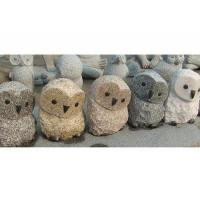 Wholesale Stone carving Natural-owl1 from china suppliers
