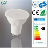 Wholesale LED Light Products aC230V/50Hz GU10 3W LED Spotlight with CE RoHS from china suppliers