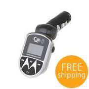 China 1.0' LCD MP3 Player with Car FM Transmitter and IR Remote (SD/USB/2.5mm) [E48914] on sale