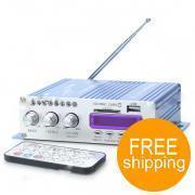 China 160W Hi-Fi Stereo Amplifier MP3 Player for Car/Motorcycle [E61312] on sale